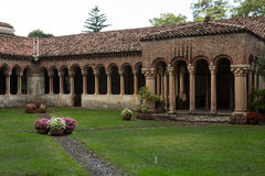 Abadía benedictina del siglo IX, Verona, Italia Fotografía de archivo libre de regalías
