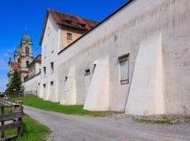 Abadía benedictina en Einsiedeln, Suiza Imagen de archivo libre de regalías