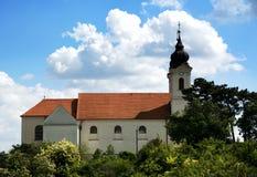 Abadía benedictina en Tihany Foto de archivo libre de regalías