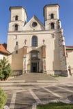 Abadía benedictina en Tyniec Imágenes de archivo libres de regalías