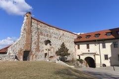 Abadía benedictina en Tyniec cerca de Kraków, Polonia Imagen de archivo