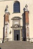 Abadía benedictina en Tyniec cerca de Kraków, Polonia Fotos de archivo