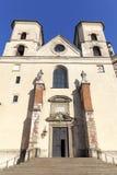 Abadía benedictina en Tyniec cerca de Kraków, Polonia Imágenes de archivo libres de regalías
