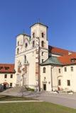 Abadía benedictina en Tyniec cerca de Kraków, Polonia Fotos de archivo libres de regalías