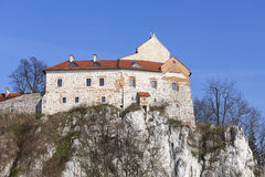 Abadía benedictina en Tyniec cerca de Kraków, Polonia Foto de archivo libre de regalías