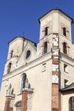 Abadía benedictina en Tyniec cerca de Kraków, santos Peter y Paul Church, Polonia Imágenes de archivo libres de regalías