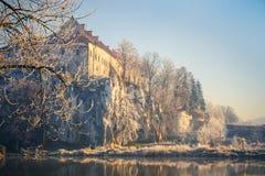 Abadía benedictina en Tyniec, Cracovia Fotografía de archivo libre de regalías