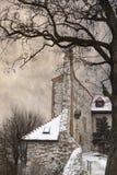 Abadía benedictina en Tyniec fuera de Kraków, Polonia Fotos de archivo libres de regalías
