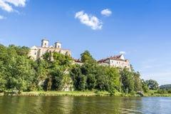 Abadía benedictina en Tyniec, Kraków, Polonia Foto de archivo