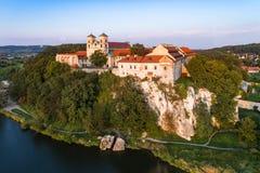 Abadía benedictina en Tyniec, Polonia Fotografía de archivo libre de regalías