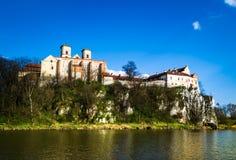 Abadía benedictina en Tyniec, Polonia Imagenes de archivo