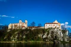 Abadía benedictina en Tyniec, Polonia Fotos de archivo libres de regalías
