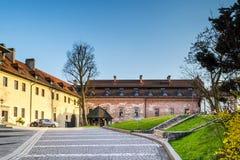 Abadía benedictina en Tyniec, Polonia Fotos de archivo
