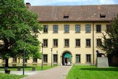 Abadía benedictina en Weingarten Fotografía de archivo