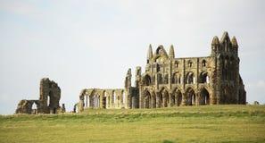 Abadía benedictina en Whitby Imagen de archivo libre de regalías