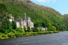 Abadía benedictina, Kylemore, Irlanda Foto de archivo