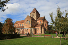 Abadía benedictina Rheinmuenster Foto de archivo libre de regalías
