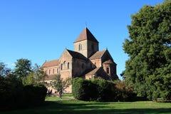 Abadía benedictina Rheinmuenster Imagenes de archivo
