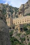 Abadía benedictina Santa Maria de Montserrat, España Imágenes de archivo libres de regalías