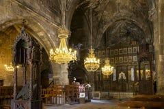 Abadía cerca de Kyrenia, Chipre septentrional de Bellapais Imágenes de archivo libres de regalías