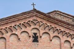 Abadía cisterciense de Fontevivo Emilia-Romagna Italia Fotografía de archivo