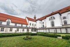 Abadía cisterciense de Stams en Imst, Austria Imagenes de archivo