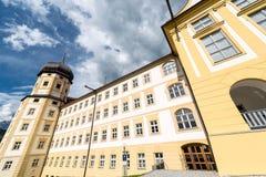 Abadía cisterciense de Stams en Imst, Austria Imagen de archivo libre de regalías