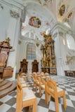 Abadía cisterciense de Stams en Imst, Austria Foto de archivo libre de regalías