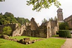 Abadía cisterciense del trapista orval de la cerveza de Notre Dame Bélgica Fotografía de archivo