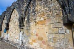 Abadía cisterciense del trapista orval de la cerveza de Notre Dame Bélgica Foto de archivo