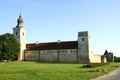 Abadía cisterciense en Sulejow Imagen de archivo libre de regalías