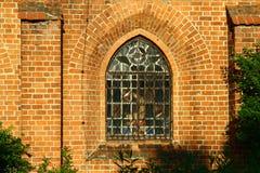 Abadía cisterciense en Sulejow Foto de archivo