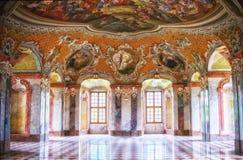 Abadía cisterciense interior en Lubiaz Fotos de archivo