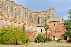 Abadía cisterciense - San Galgano Imagenes de archivo
