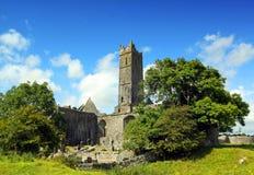 Abadía Co. Clare Irlanda de Quin Imágenes de archivo libres de regalías