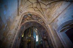 Abadía, Convento de Cristo Imagenes de archivo