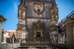 Abadía, Convento de Cristo Fotografía de archivo libre de regalías