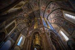 Abadía, Convento de Cristo Imágenes de archivo libres de regalías