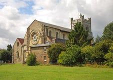 Abadía cruzada de Waltham Imagen de archivo libre de regalías