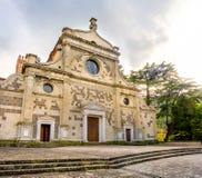 Abadía de Abbazia di Praglia Praglia - Padua - cuesta de las colinas de Euganean Fotos de archivo libres de regalías