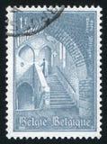 Abadía de Affligem de la escalera Imagen de archivo