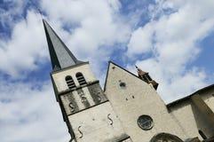 Abadía de Ambronay Imágenes de archivo libres de regalías