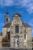 Abadía de Averbode, Bélgica Imagen de archivo