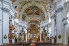 Abadía de Banz, Alemania Fotografía de archivo libre de regalías