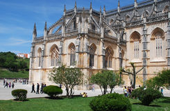 Abadía de Batalha (Portugal) Imágenes de archivo libres de regalías