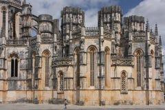 Abadía de Batalha, Portugal Fotos de archivo libres de regalías
