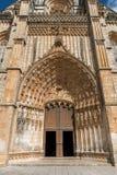 Abadía de Batalha Santa Maria da Vitoria Dominican, Portugal Fotografía de archivo