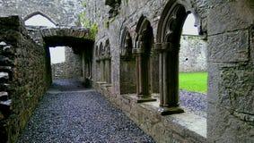 Abadía de Bective, Irlanda Fotografía de archivo libre de regalías