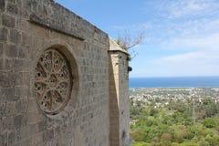 Abadía de Bellapais Foto de archivo libre de regalías