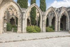 Abadía de Bellapais cerca de Kyrenia Imagenes de archivo